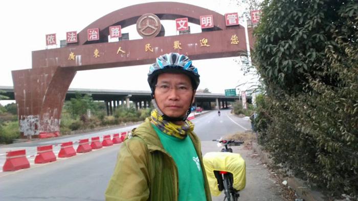 跋山涉水的骑行,赵老师一直向往远方和不一样的风景